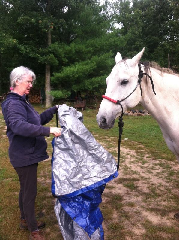 Kristie and Monte w/ tarp